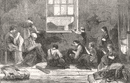 BETHNAL GREEN: Tailor & family, 10 Hollybush Place, antique print, 1863